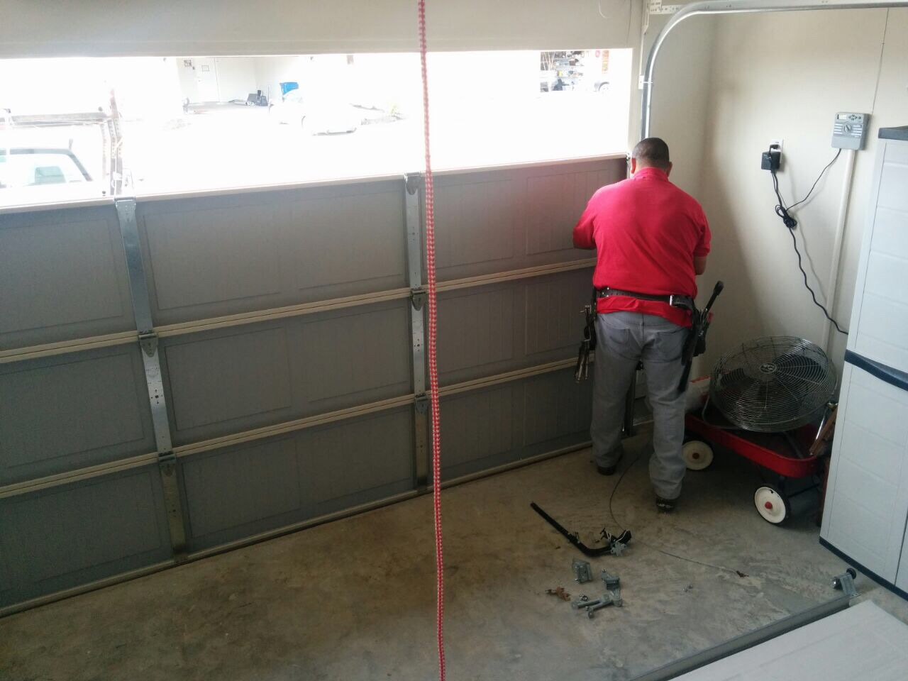Broken Cable Repair Garage Door Repair Goodyear Az