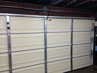 Maintaining a New Garage Door